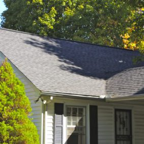 newly made roofing