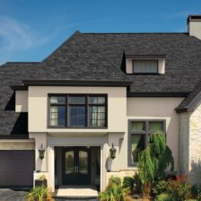 black single roofing