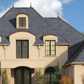 nice suburban house
